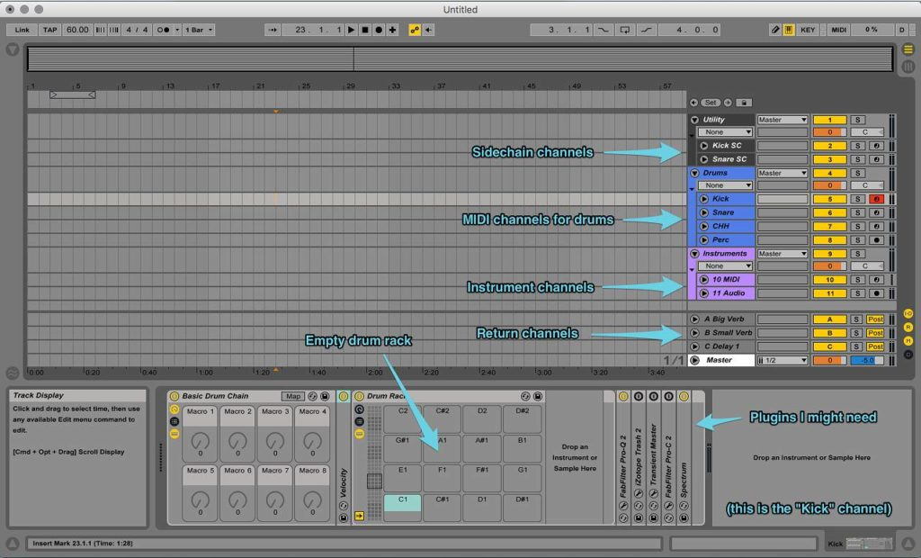How to Streamline Your Workflow: Production Habits & Tips - 1