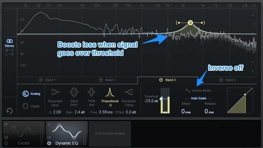 How To Mix Vocals & Sound Effects - Dynamic EQ 4