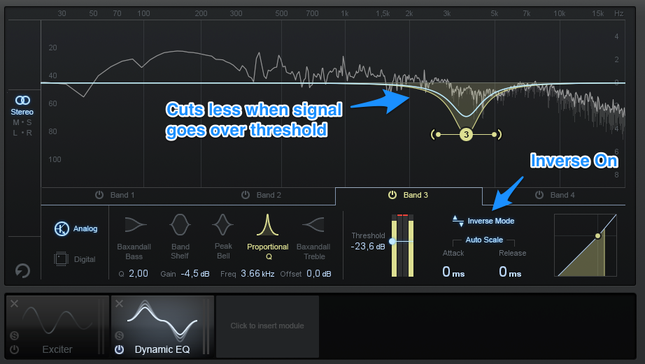 How To Mix Vocals & Sound Effects - Dynamic EQ 3