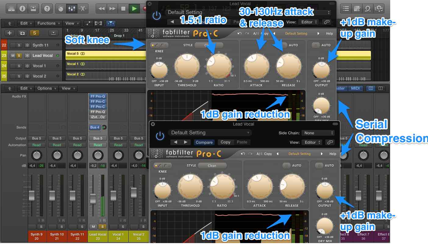 How To Mix Vocals - Serial Compression 2