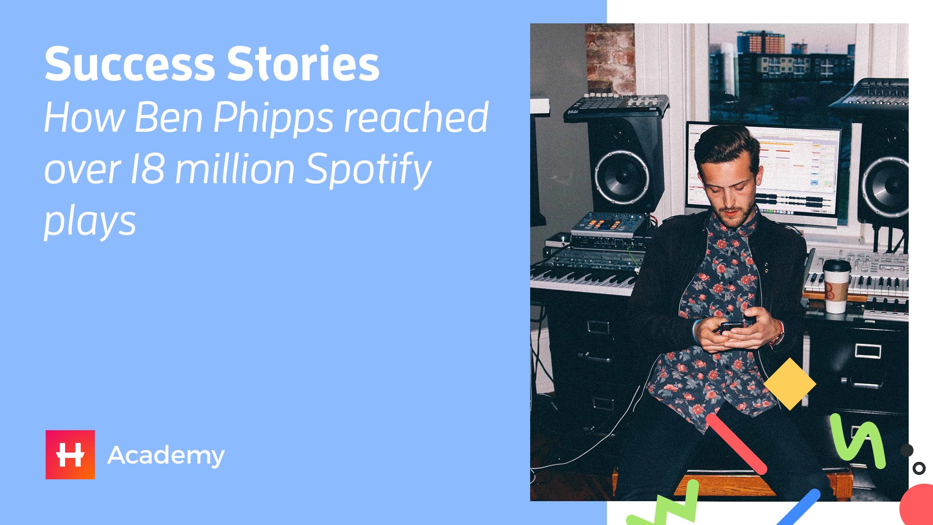Success stories how ben phipps reached over 18 million spotify plays malvernweather Image collections