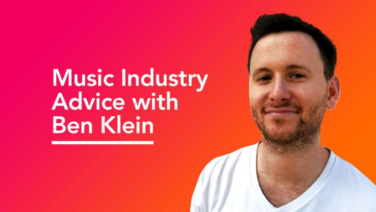 Music Industry Advice Ben Klein